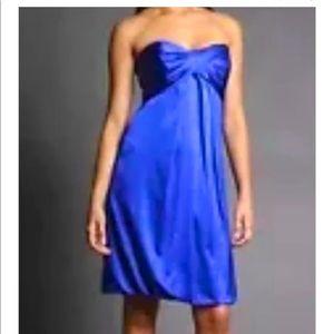 🌟HP🌟 Nicole Miller Strapless Silk dress 10P
